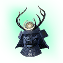Exceptional Yamatai Warlord Helmet