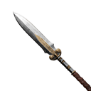 Flawless Hardened Steel Spear