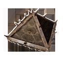 加固的木製屋頂蓋