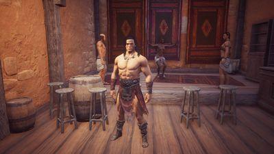 Conan at the Waterside Tavern.