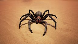 Redmouth Spider