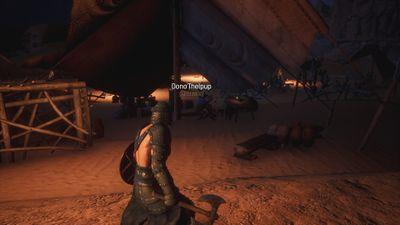 Dono'Thelpup at his Voyager's Vigil spawn