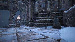 Lemurian Lorestone at The Black Keep (right of the entrance).jpg