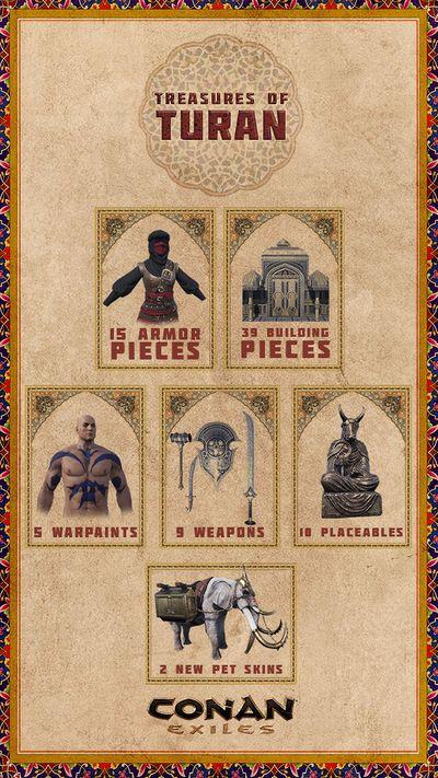 Treasure of Turan Pack - DLC Collage