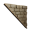 Icon t3 wall triangle flipped top.png