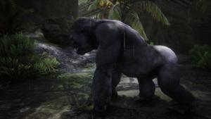 Raging Gorilla Silverback