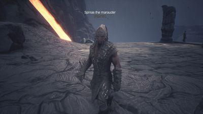 Spinas the Marauder at his xyz spawn.