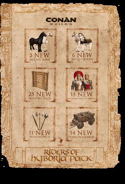 Riders of Hyboria Pack - DLC Collage