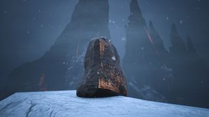 Lemurian Lorestone at The Black Keep (highest Peak northwest of it).jpg
