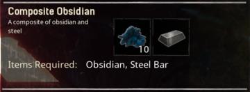 Composite Obsidian - Official Conan Exiles Wiki