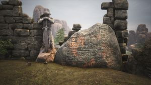 Lemurian Lorestone at Sanctuary Ruins.jpg