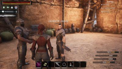 Cruaidh at his The Black Galleon spawn.