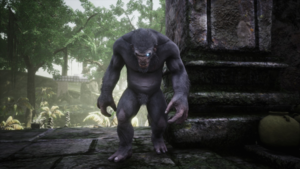Corrupted Grey Ape