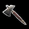 坚固的钢制飞斧
