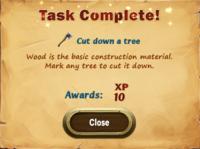 Task Complete!