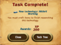 Task Complete Mithril Working.png