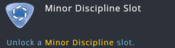Talent - Templar - Minor Discipline Slot.png