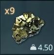Copper Ore inventory icon