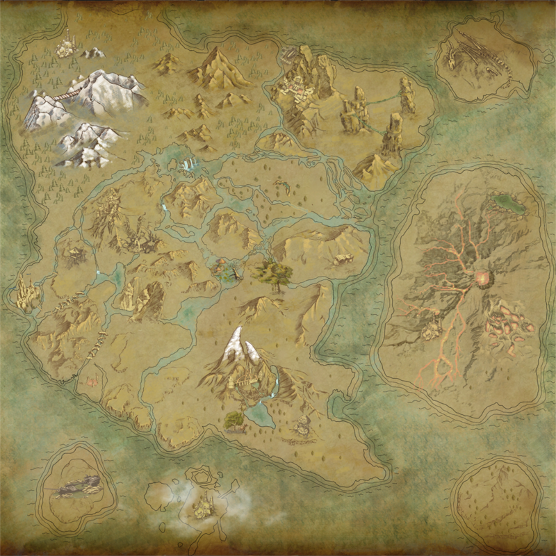 Locations/Resource Map - Dark and Light Wiki