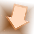 Down Arrow Flare Icon.png