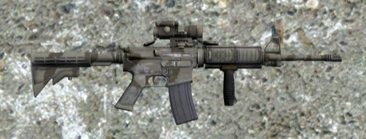 File:Weapon M4A3 CCO.png - DayZ Wiki
