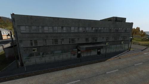 Hospital building in Elektrozavodsk