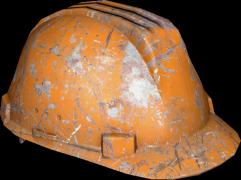 024b5ec446062b Hard Hat (Orange) Damaged