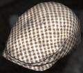Brown Check Flat Cap.png