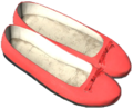 Ballerina Shoes Red.png