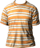 T-Shirt Orange White.png