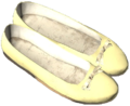 Ballerina Shoes Yellow.png