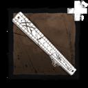 Scratched Ruler