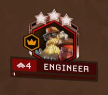 Character badge.