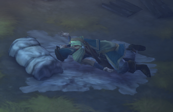 Warriv's corpse
