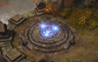 A waypoint in Diablo III