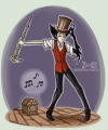 Fanart of Wilson dancing with the walking cane.png