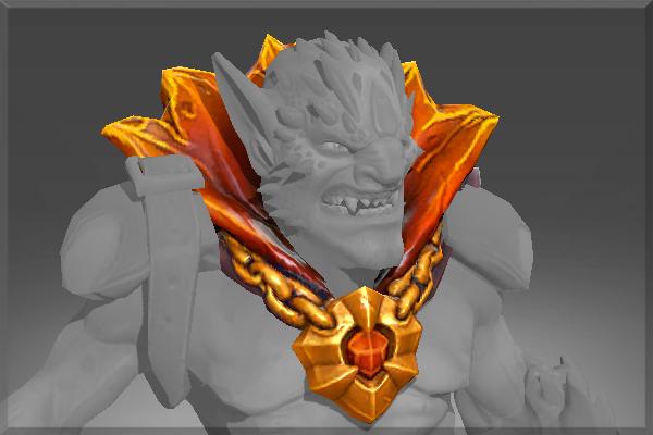 Dota 2 Lion S Immortal Item Fin King S Charm: Mantle Of Hell's Ambassador