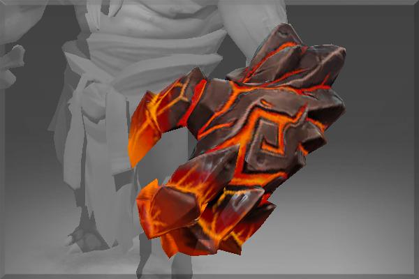 Dota 2 Lion S Immortal Item Fin King S Charm: Hand Of Hell's Ambassador
