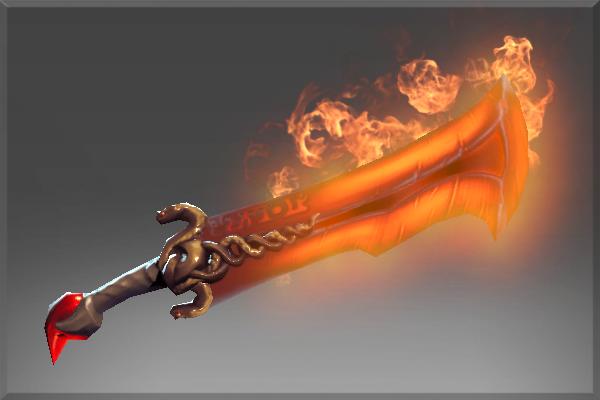 Greatsword of the inferno
