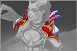Cosmetic icon Pauldrons of the Obsidian Nightmare.png