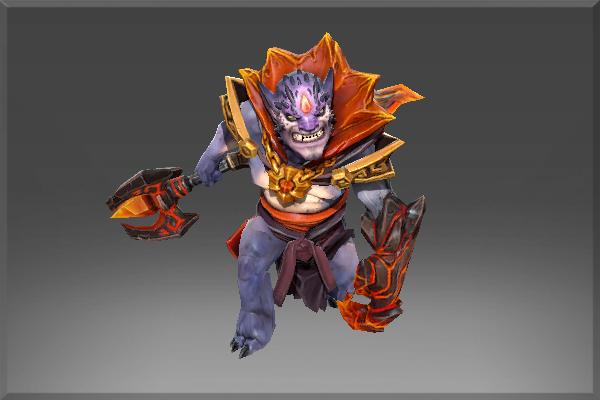 Dota 2 Lion S Immortal Item Fin King S Charm: Hell's Ambassador Set