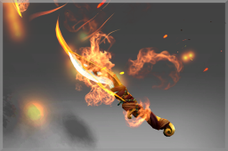 Cosmetic icon Off-Hand Blade of the Wandering Flame.png