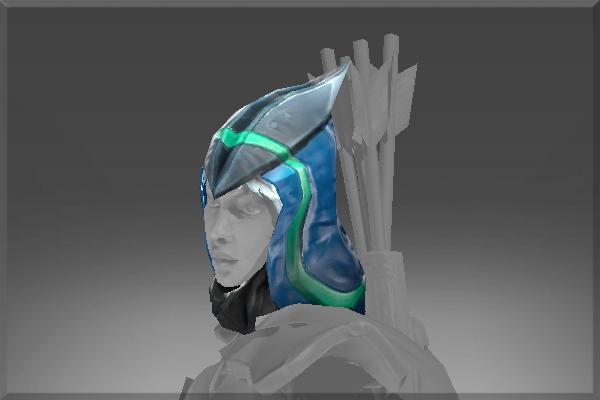 Drow Ranger S Mania S Mask Immortal: Sentinel Hood