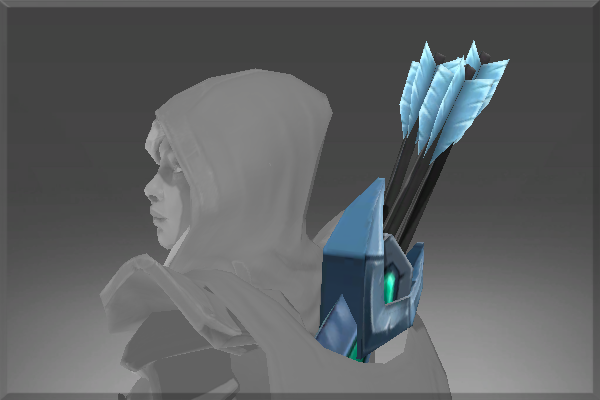 Drow Ranger S Mania S Mask Immortal: Sentinel Quiver