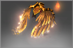 Cosmetic icon Golden Wyrmwrought Flare.png