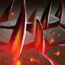 The Barren Crown Burrowstrike icon.png