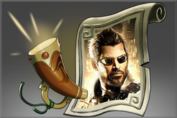 Cosmetic icon Deus Ex Announcer Pack.png