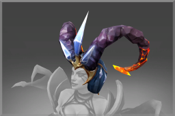 Cosmetic icon Horns of the Obsidian Nightmare.png