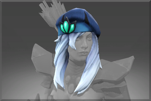 Drow Ranger S Mania S Mask Immortal: Lone Traveler's Beret
