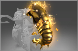 Cosmetic icon Golden Scavenging Guttleslug.png